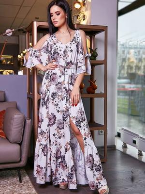 Платье в цветочный принт | 5071240