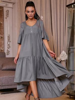 Платье серое | 5071241