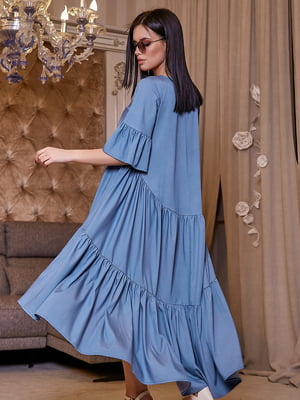 Платье голубое | 5071243