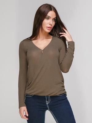 Пуловер коричневый | 3222659