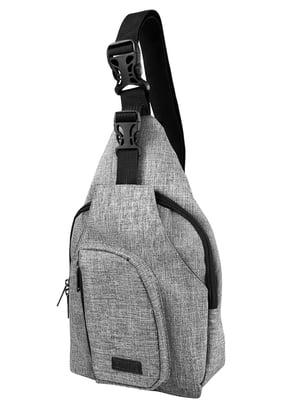 Сумка-рюкзак сіра | 5033230