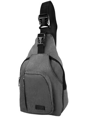 Сумка-рюкзак сіра | 5033232