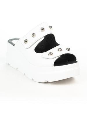Шлепанцы белые | 5066207