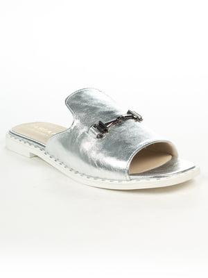 Шльопанці сріблясті | 5066190