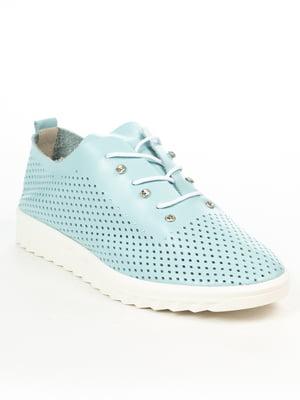 Туфли голубые | 5066177