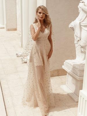 Платье бежевое   5050924