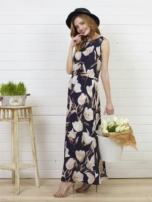Платье в цветочный принт   5060864