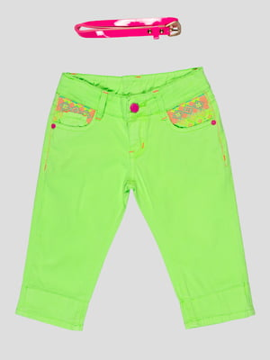 Бриджи зеленые | 5057544