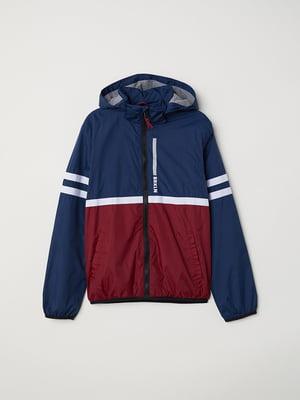 Куртка синьо-червона   5047503