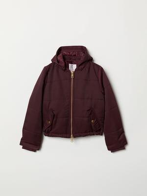 Куртка темно-червона   5047513