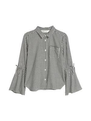Блуза чорно-біла   5067756