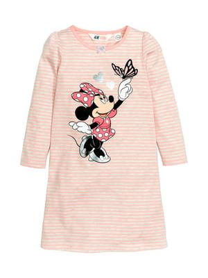 Сукня рожева в смужку   5067945