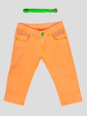 Бриджі персикового кольору | 5057545