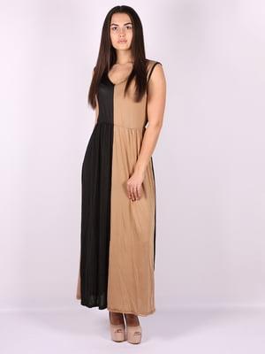 Платье двухцветное | 5073489