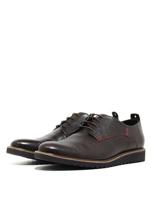 Туфли коричневые   5026996