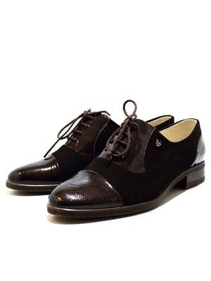 Туфлі темно-коричневі   5026995