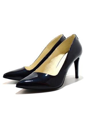 Туфлі темно-сині   5026999