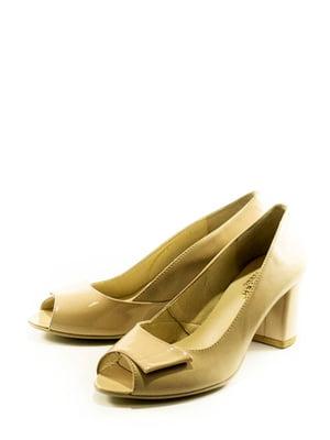 Туфлі бежеві   5027008