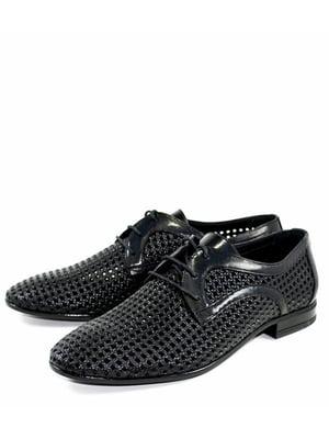 Туфли черные   5027017