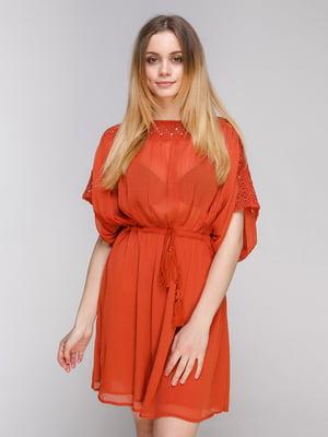 Платье оранжевое | 4840422