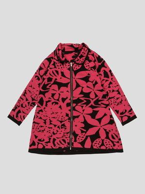 Кофта в рисунок розовая | 4407432