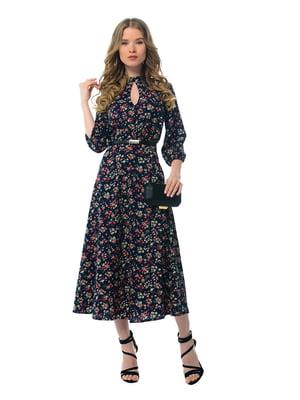 Платье в цветочный принт | 5073700