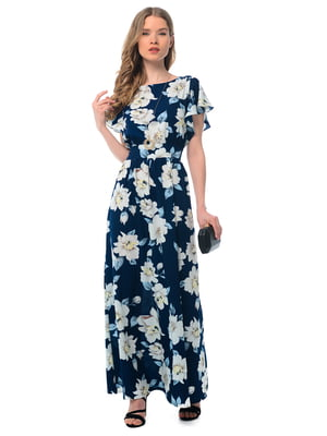 Платье в цветочный принт | 5073705