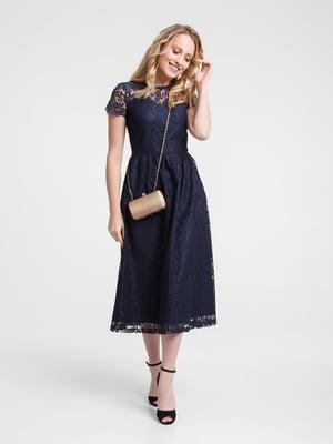 Сукня темно-синя - Evercode - 5073527