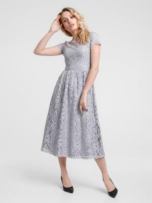Платье серое - Evercode - 5073528