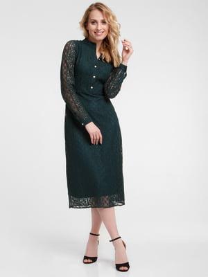 Платье зеленое - Evercode - 5073537