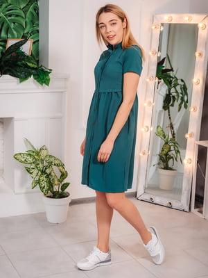 Платье бутылочного цвета | 5074247