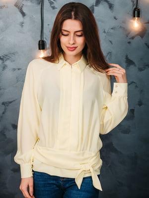 Блуза лимонного кольору | 5074254