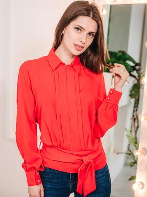 Блуза красная | 5074255
