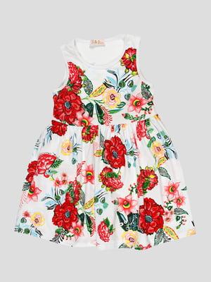 Сукня в квітковий принт | 5073436