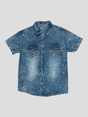 Рубашка синяя | 5073447