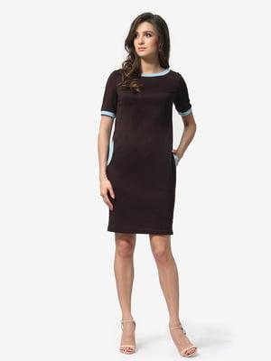 Платье темно-коричневое | 5074584