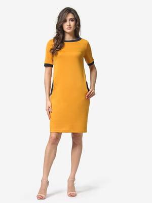 Сукня гірчичного кольору | 5074586