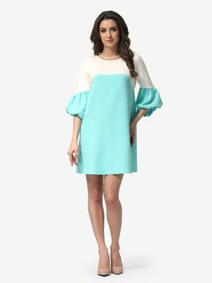 Платье двухцветное | 5074612