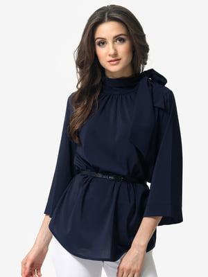 Блуза темно-синяя | 5074620