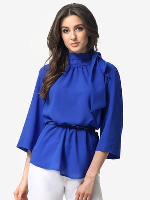 Блуза кольору електрик | 5074621