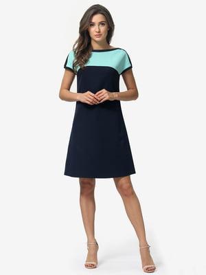 Сукня двоколірна | 5074631