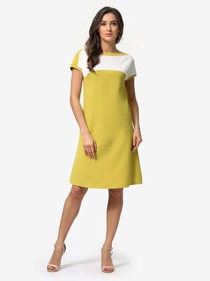Платье двухцветное | 5074634