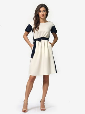 Сукня двоколірна   5074640