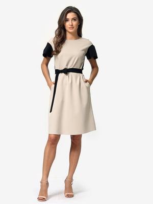 Платье двухцветное | 5074641