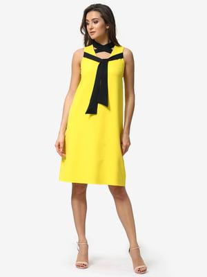 Платье желтое | 5074646