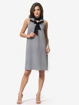 Сукня в гусячу лапку | 5074654