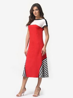 Платье красное | 5074656