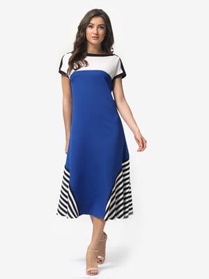 Сукня кольору електрик | 5074657