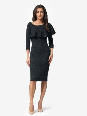 Сукня графітового кольору | 5074665