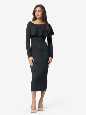 Сукня графітового кольору | 5074666